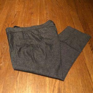 Banana Republic Gray Sloan Fit Pants. Size 12